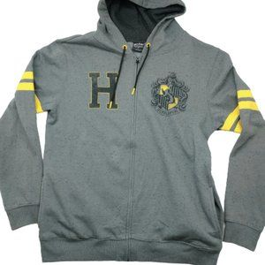 Harry Potter Hufflepuff Full-Zip Hooded Zip Up